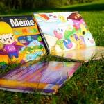 Interaktives Abenteuer - farbenfroh und detailliert illustriert
